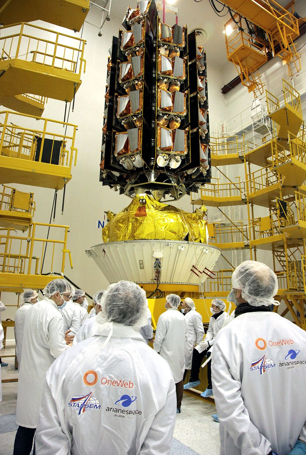 OneWeb satellites ready for launch