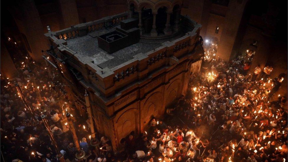 Uskrs Crkva Svetog groba u Jerusalimu