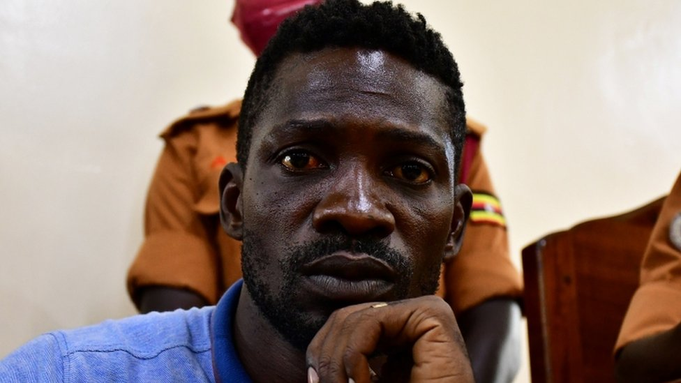 Bobi Wine: Ugandan politician charged for breaking coronavirus rules thumbnail