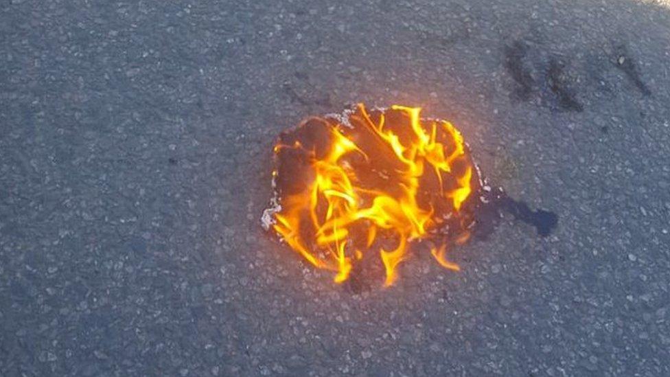 Burning vape