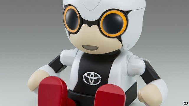 Toyota's Kirobo mini robot