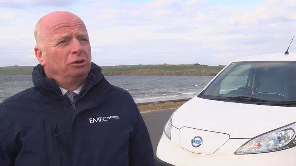 Neil Kermode, managing director of the European Marine Energy Centre