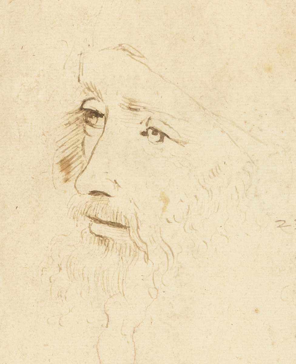 A sketch of Leonardo Da Vinci