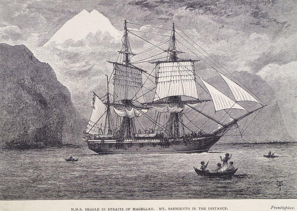 Ilustracija HMS Bigl
