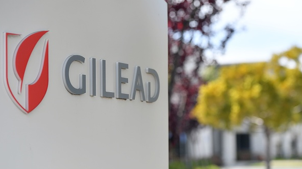 Logomarca da Gilead Sciences