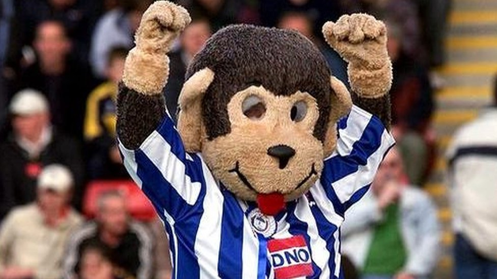 H'Angus the monkey