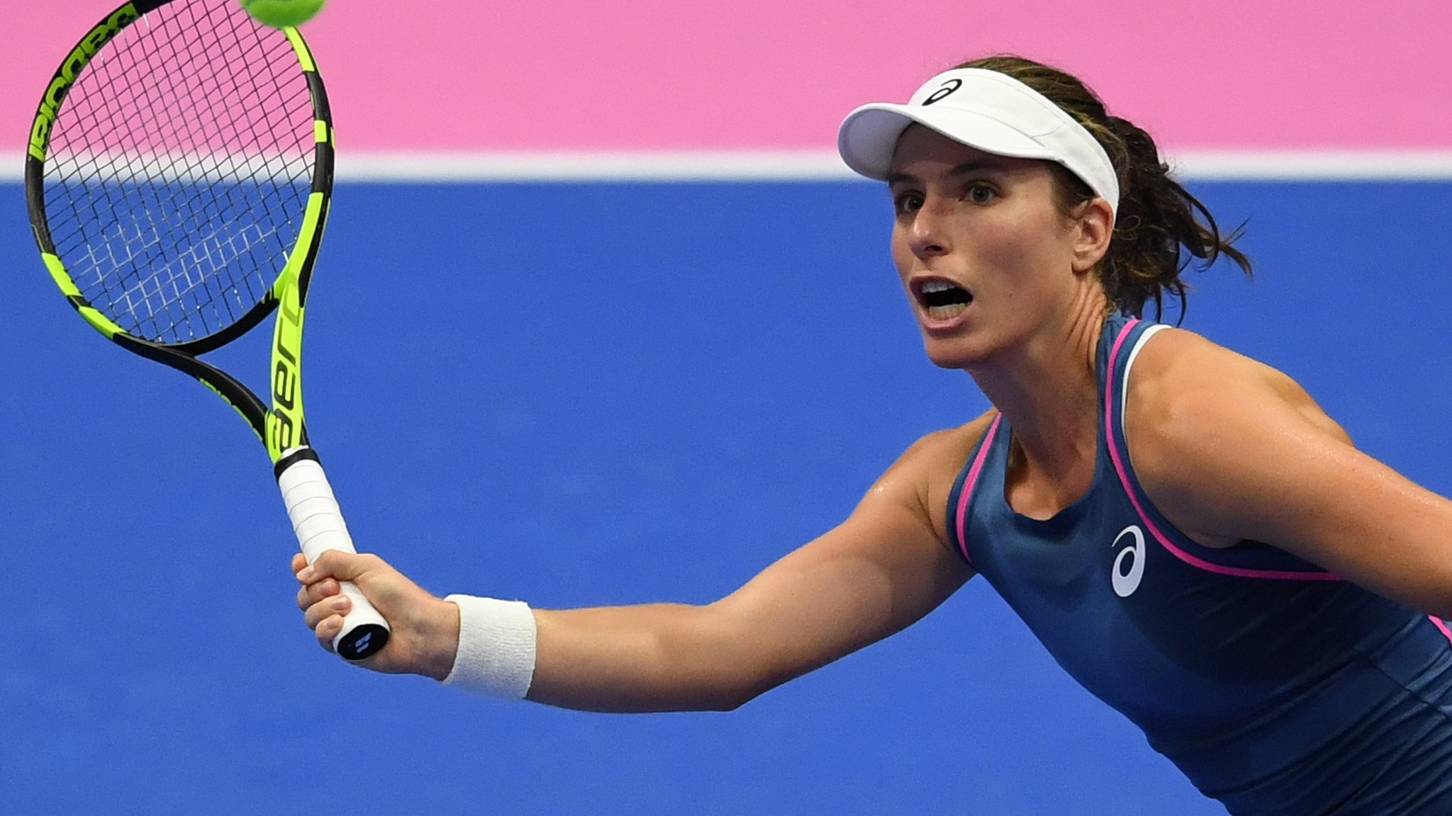 Kremlin Cup: Johanna Konta beats Daria Gavrilova to reach last eight