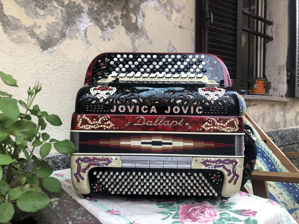 harmonikaš, Jovica Jović, harmonika