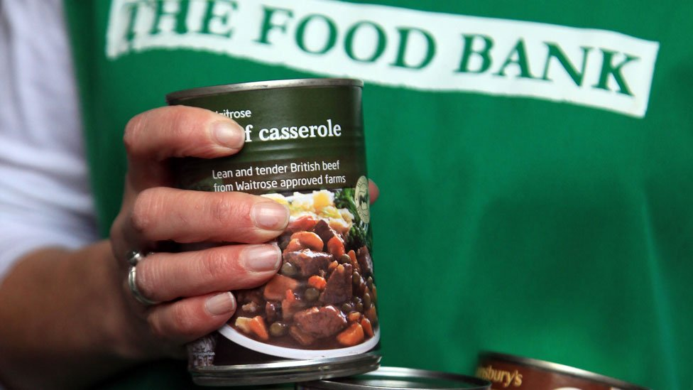Food bank hands out record number of parcels