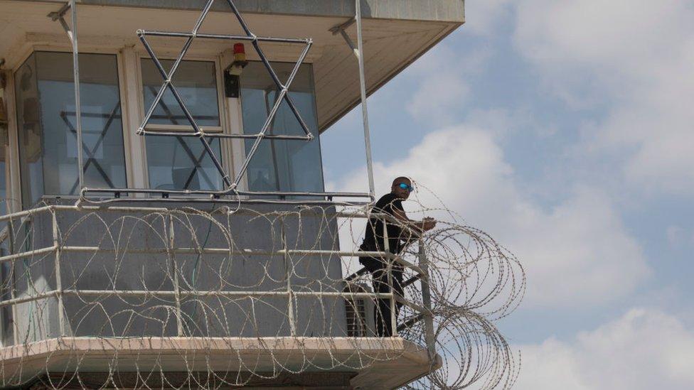 سجن جلبوع في شمالي إسرائيل