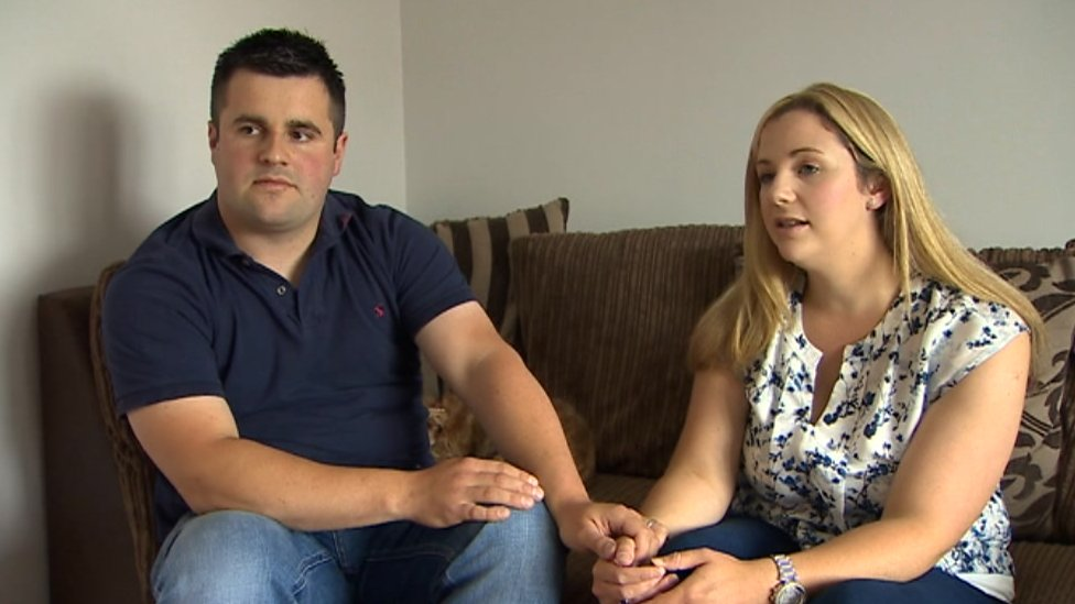 Couple's anger after 'stillborn' son died in their arms