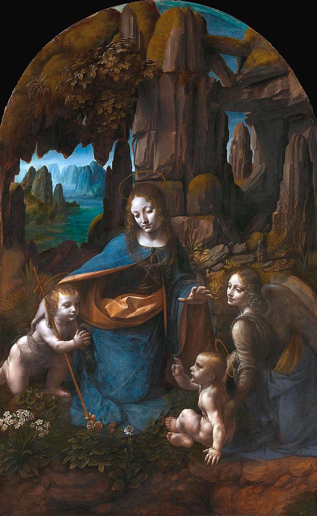 'La Virgen de las Rocas'