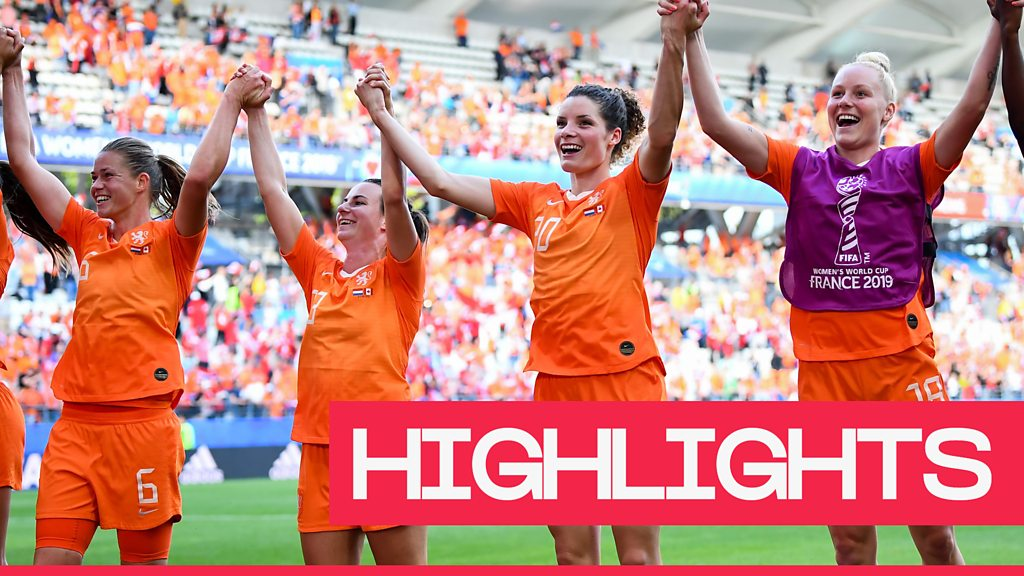Women's World Cup 2019: Netherlands defeat Canada to win Group E