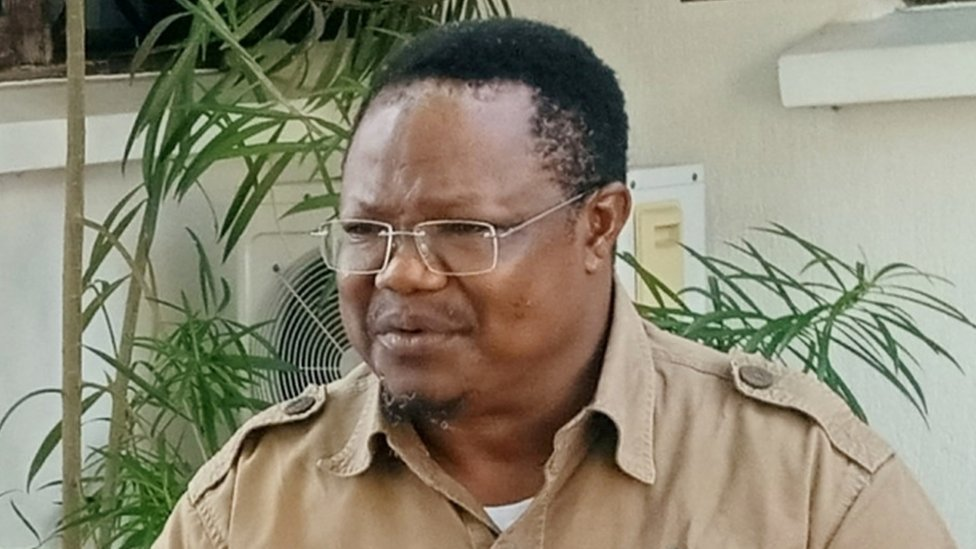 Opposition presidential candidate Tundu Lissu on 7 October 2020