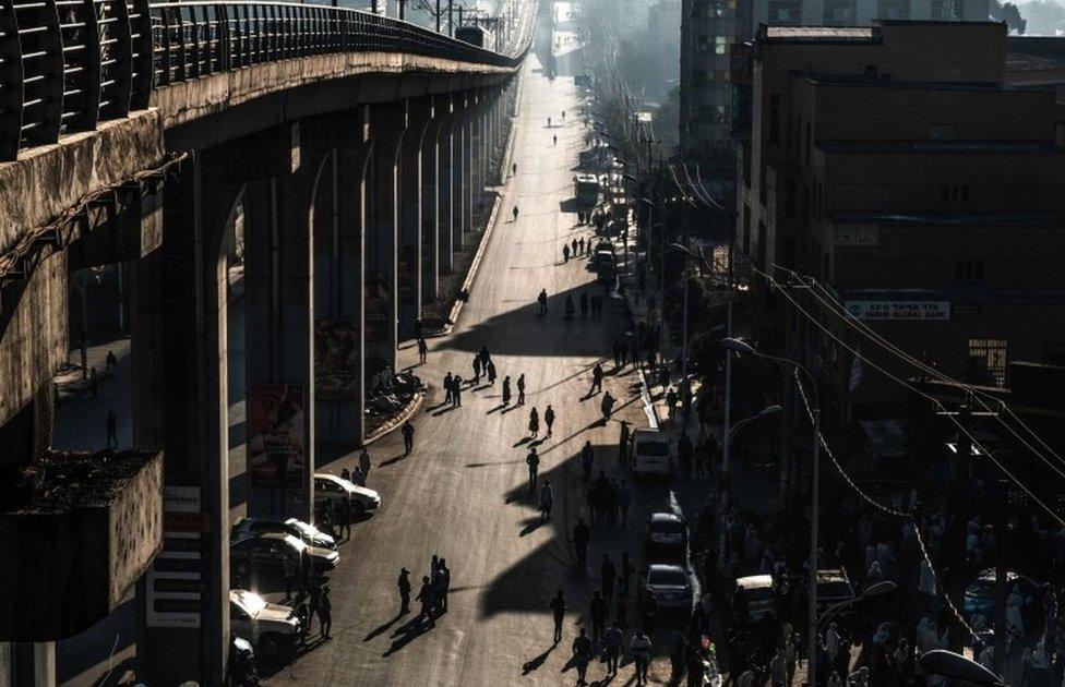 dan bez automobila u Adis Abebi