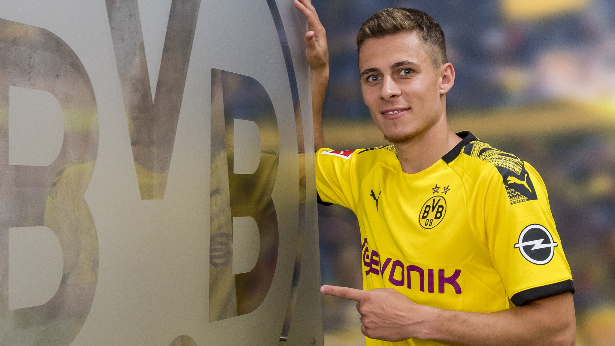 Thorgan Hazard: Borussia Dortmund sign winger from rivals Monchengladbach
