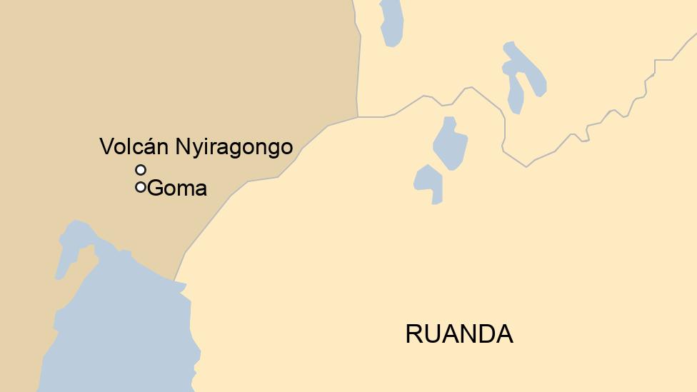 Mapa de la zona