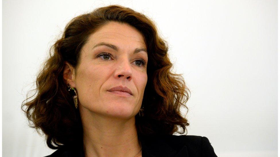 File pic of ex-senator Chantal Jouanno