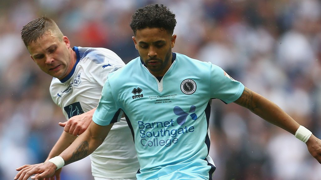 Bruno Andrade: Lincoln City sign Boreham Wood striker