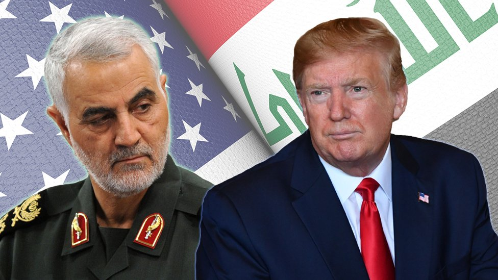 Qasem Soleimani and Donald Trump