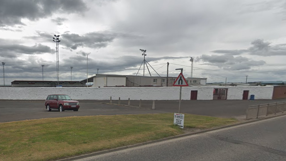 Man reported after drone flown over football match