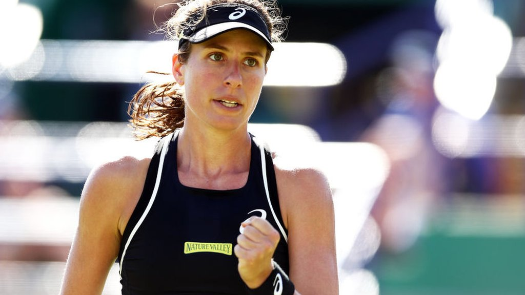 Eastbourne International 2019: Johanna Konta through to second round