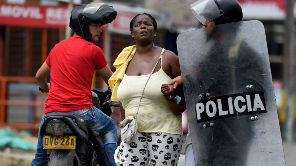 Policía en Colombia
