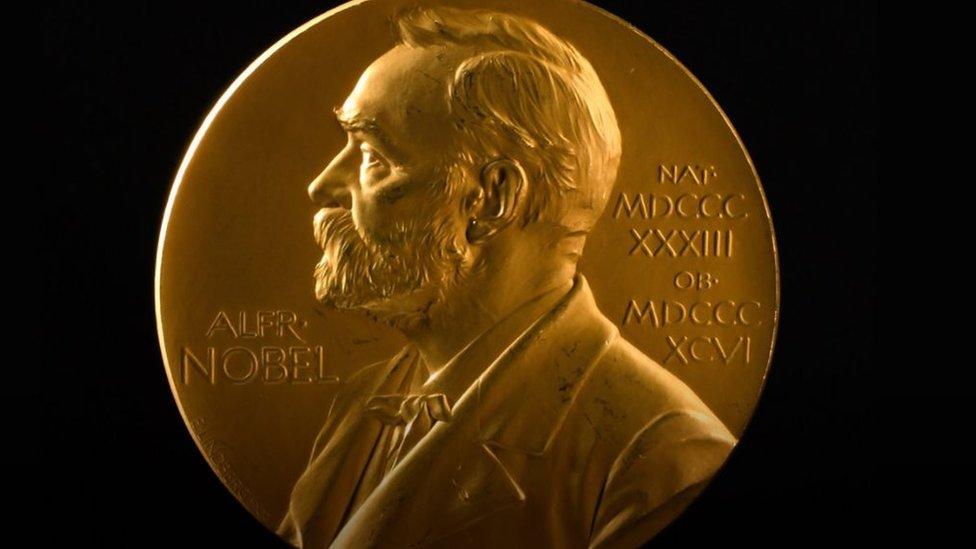 صورة ميدالية نوبل