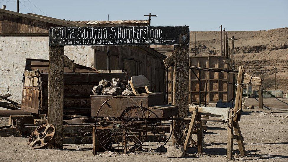 Oficina salitrera de Humberstone