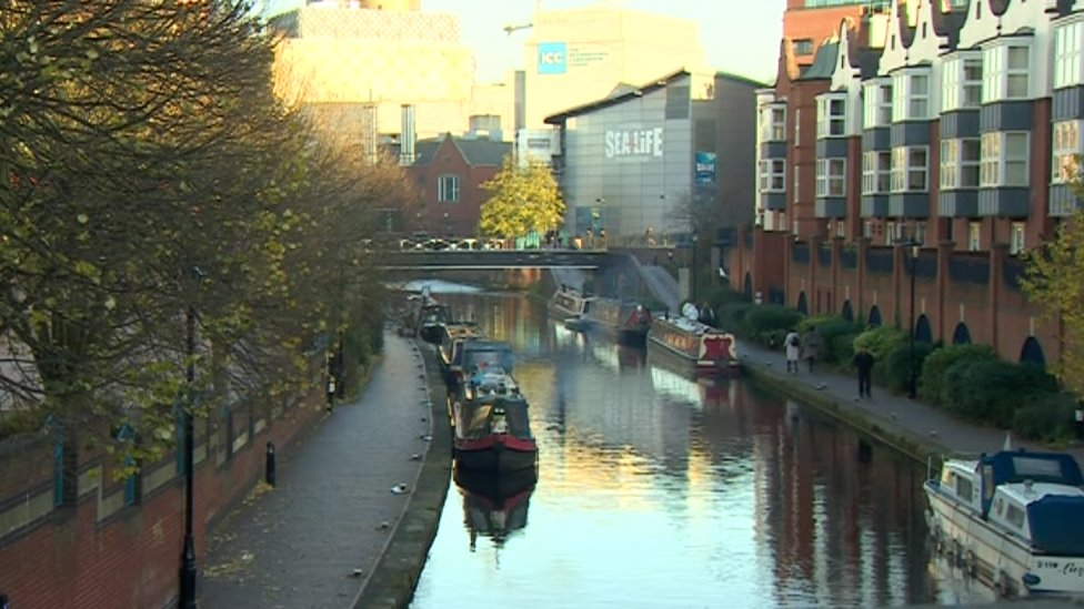 Birmingham city centre mugging victim critically ill