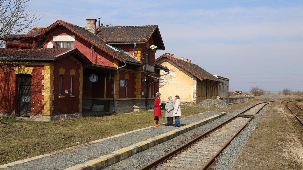 Kastice train station