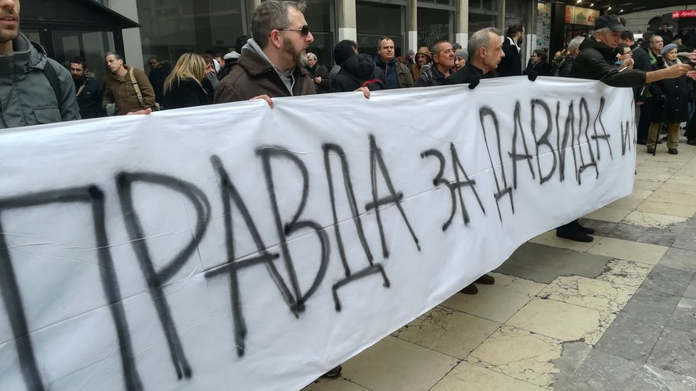 Protest David