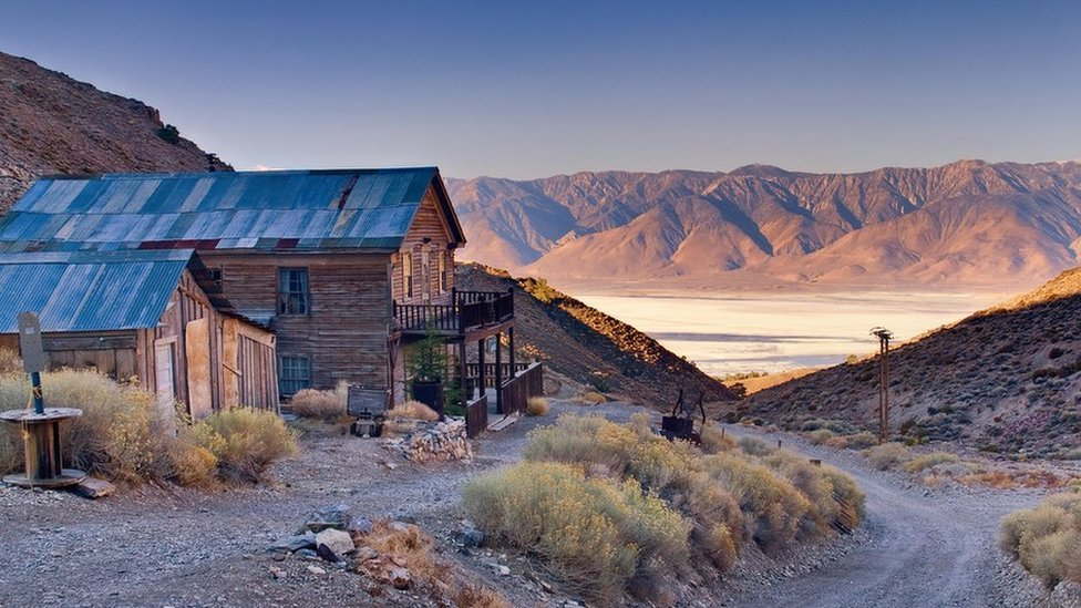 Cerro Gordo ghost town. Brent Underwood