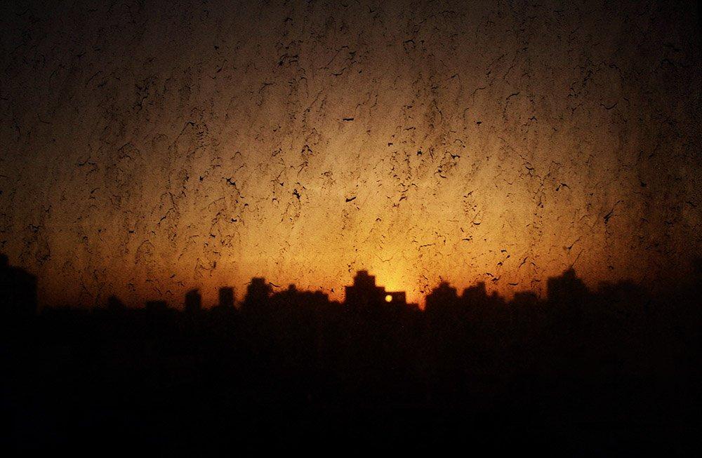 غروب الشمس في القاهرة