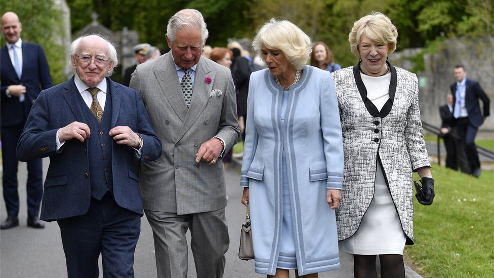 Charles and Camilla visit County Wicklow