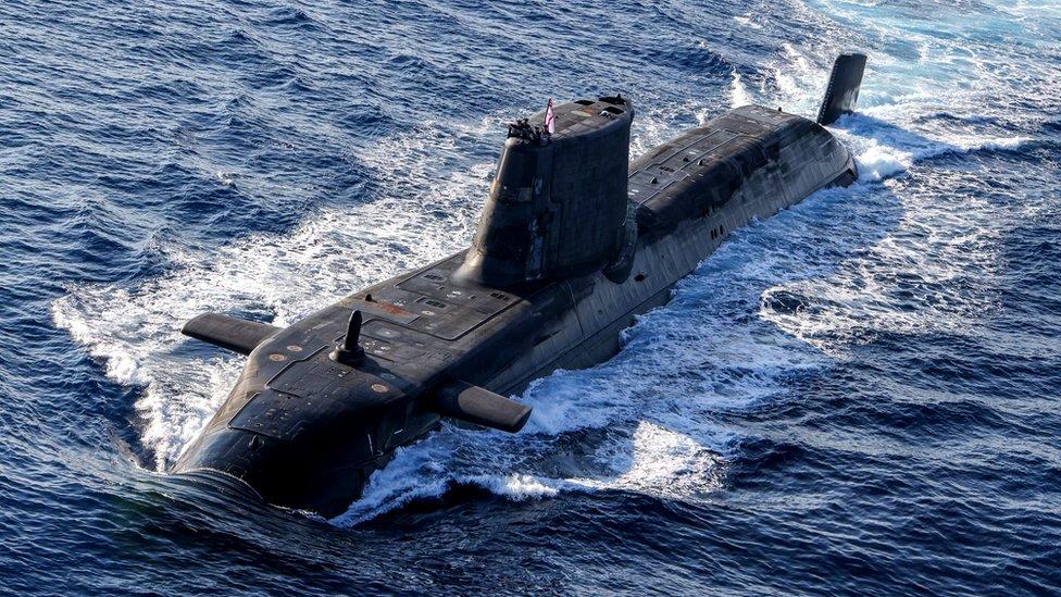 podmornica na nuklearni pogon