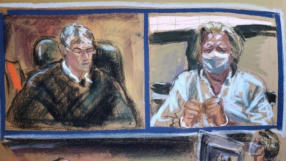 Steve Bannon appeared in court in New York City on Thursday