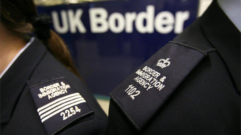UK Border Agency officers