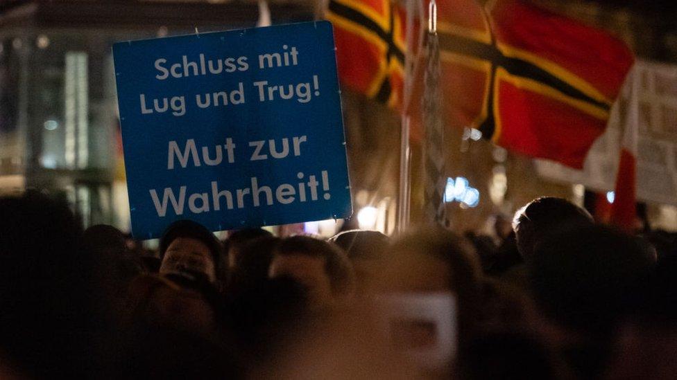 مظاتهرة في ألمانيا