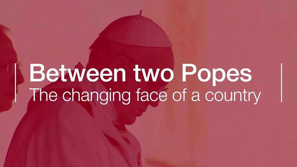 How Ireland has changed between two popes