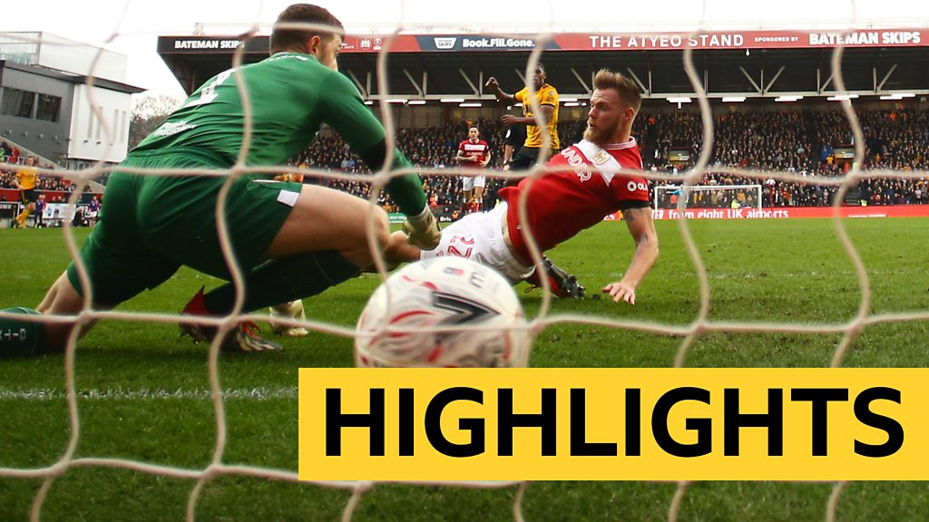 FA Cup: Bristol City 0-1 Wolves highlights