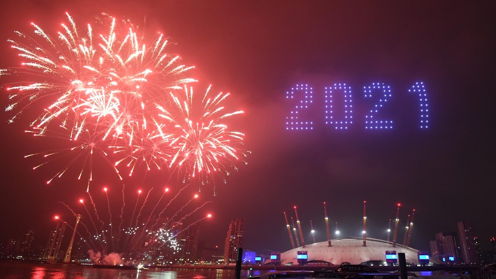 New Year fireworks watched by 10 million viewers on BBC One - BBC News
