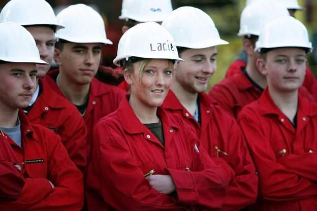 genç işçiler