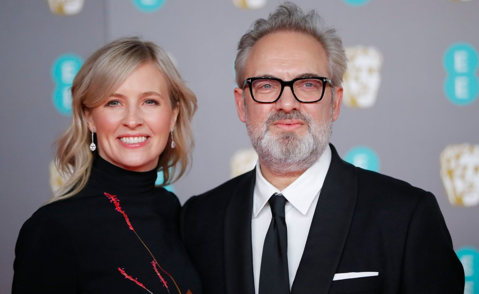 Sir Sam Mendes and Alison Balsom