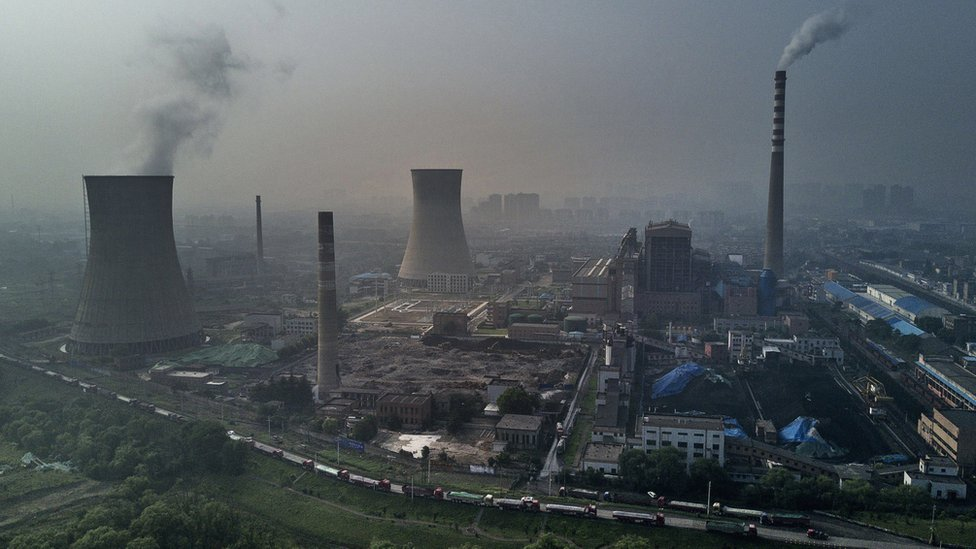 coal fired plant china