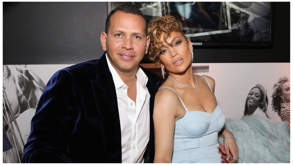 Jennifer Lopez And Alex Rodriguez Announce Engagement Bbc News