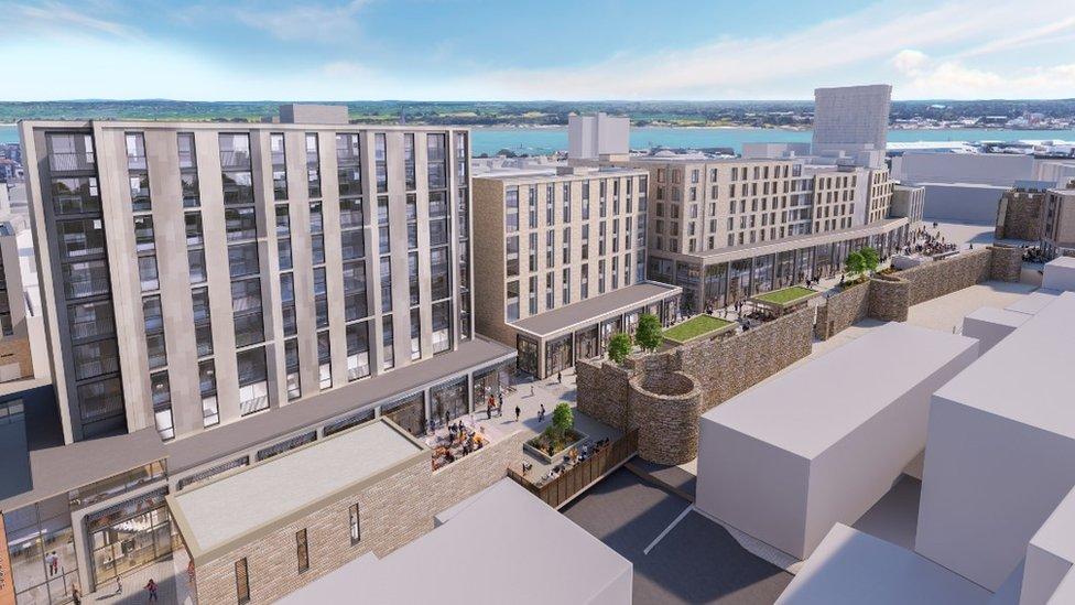 Bargate development