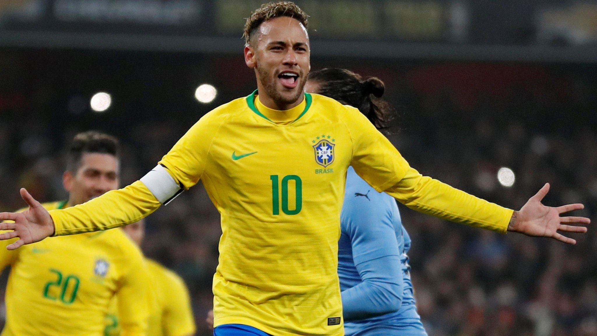 Brazil 1-0 Uruguay: Neymar penalty secures friendly win in London