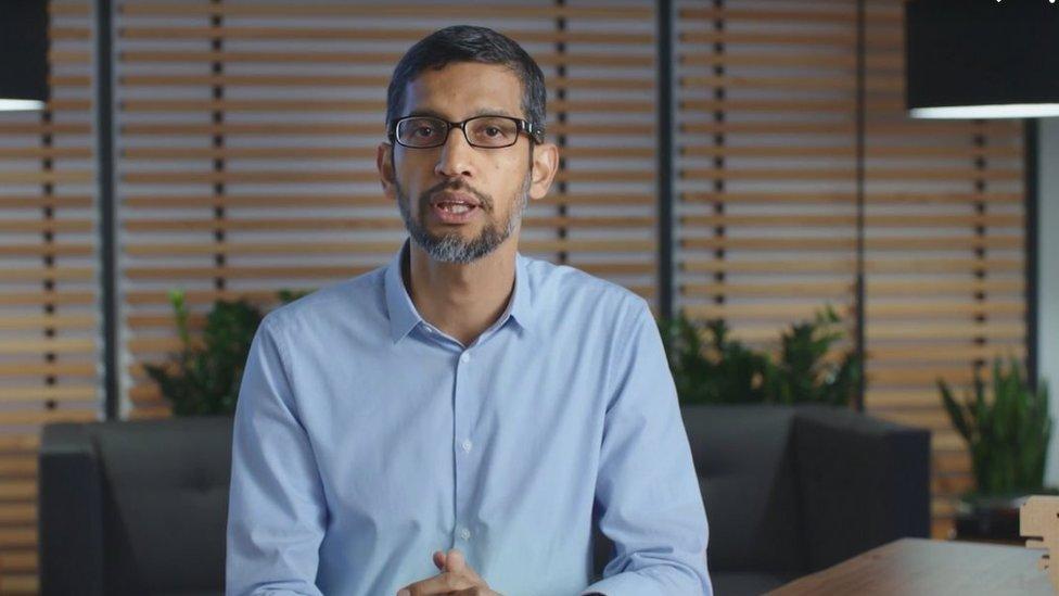 سوندار بيتشاي، المدير التنفيذي لغوغل