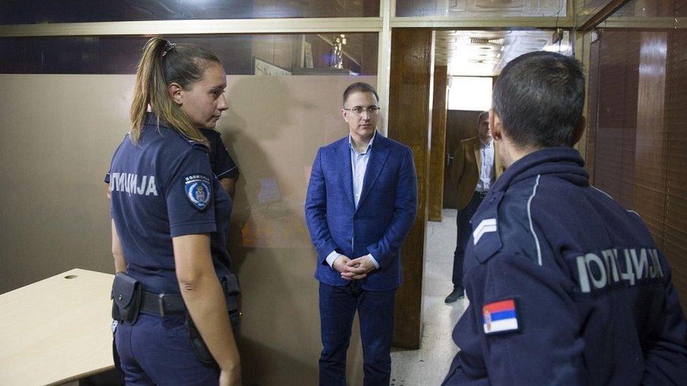Ministar unutrašnjih poslova Nebojša Stefanović